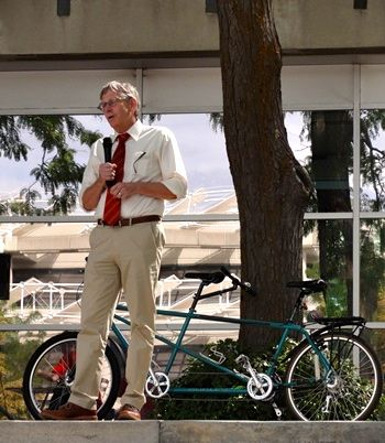 Office of Sustainability Director Myron Willson