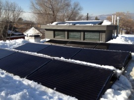 Solar purchased through community bulk purchase.