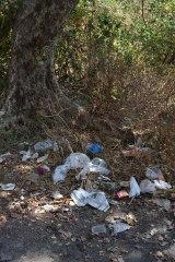Random waste dumping