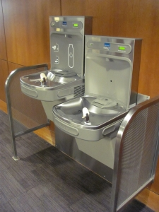 Library Water Station