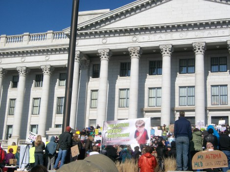 Rally for clean air