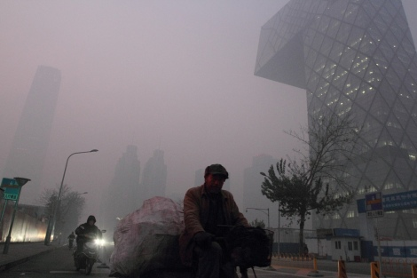 Beijing air quality, December 2011. Flickr.com