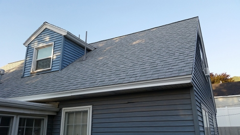 Contractors visited the home to make sure the roof could support solar panels.