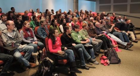 Full seminar room