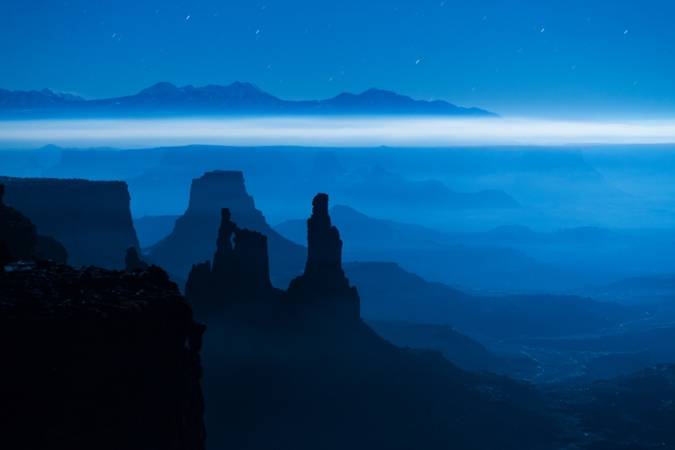 """Blue Moon Mesa"" in Canyonlands National Park by Dustin LeFevre"