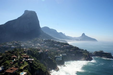 Joatinga e São Conrado Districts. Rio de Janeiro, Brazil. Photo by Rubem Porto Jr/Flickr, Creative Commons.