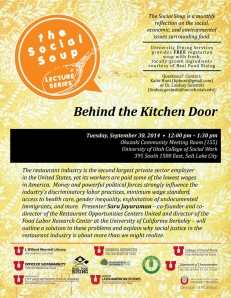 SocialSoup - Kitchen Door - Sept 2014