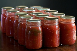 Canned tomatoes. Photo by Chiot's Run/Flickr