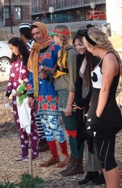 Costume contest at the 2013 Fall Harvest Soiree.