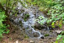 Unnamed stream below Grandeur Peak.