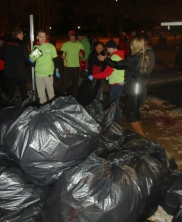 recyclables in bags