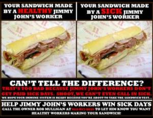 The viral image that propelled Jimmy Johns workers demands onto the national stage.