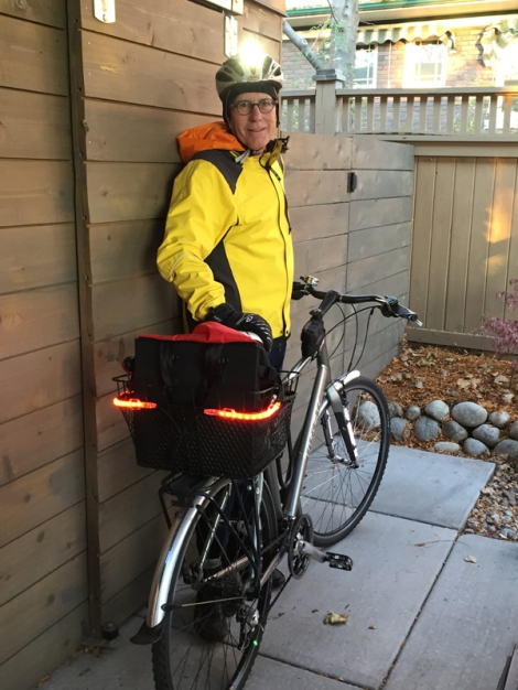 Myron Willson winter biking gear