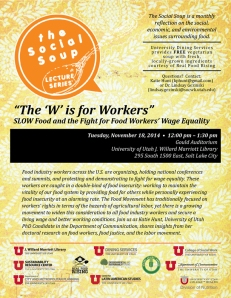 SocialSoup - W is for Workers - Nov 2014