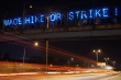 """""""Wage hike or strike."""" Milwaukee joins the fast food protests. Photo by Light Brigading, Flickr/Creative Commons."""