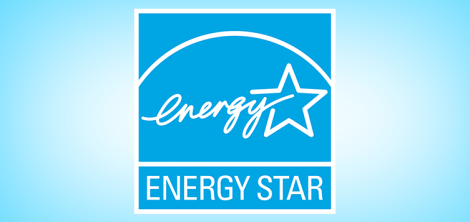 Look for the ENERGY STAR logo when shopping for new appliances and electronics.