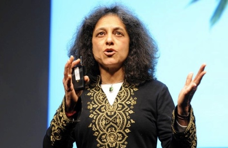 "Image from Nalini Nadkarni's TED Talk on ""Life Science in Prisons."" Nadkarni is the keynote speaker at this year's dinner."
