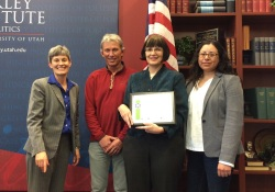 Barbara Brown received the Sustainability Research Award.