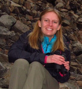 U of U PhD candidate and pika enthusiast Joanna Varner. Photo: Joanna Varner