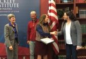 Julia Corbett received the Sustainability Education Integration Award.