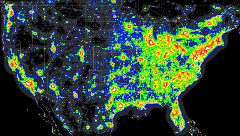 Join The Conversation About Light Pollution In Salt Lake City - Salt lake city map of us