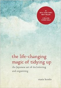 "Marie Kondo's new book, about valuing the ""stuff"" of our lives more, and honoring and taking care of it.  book cover image: amazon.com"