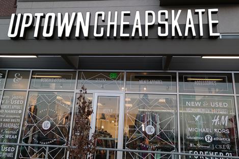 Uptown Cheapskate store in Sugar House. Photo: mommyandkumquat.com