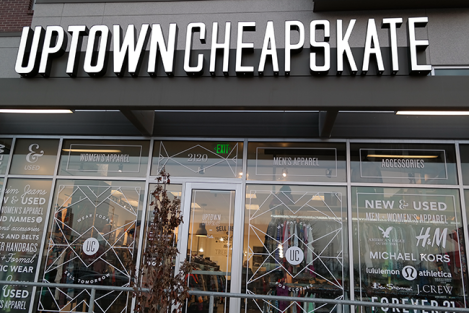 Uptown Cheapskate store in Sugar House. Photo: mommyandkumquat.com