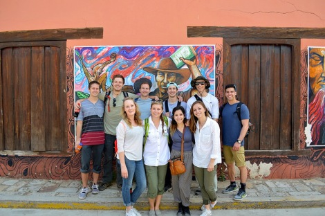 The U of U global brigade in business and microfinance, on-site in Honduras this spring.