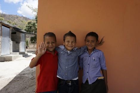Kids, Guaricayan, Honduras.