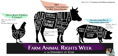 Farm Animal Rights Week Banner