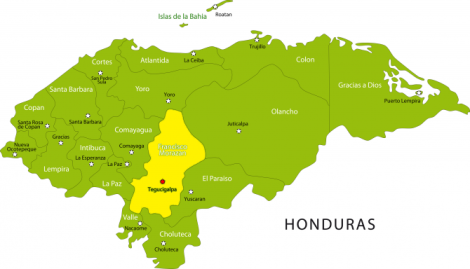 Guaricayan is near Tegucigalpa, the capital of Honduras, in the province of Francisco Morazan.
