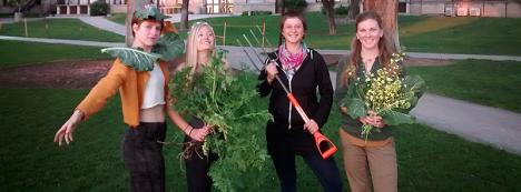 From left: Emma Wilson, Georgie Corkery, Erika Longino, and Marykate Glenn