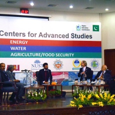 University of Utah professors Tariq Banuri and Steve Burian participate in a panel discussion on water as part of the U.S.-Pakistan Centers for Advanced Studies Conference at the Higher Education Commission in Islamabad on June 4. They were in Pakistan as part of the announcement of a five-year USAID project will help secure the availability of clean water by supporting the training of professionals that plan, design, build, operate, maintain and manage safe and resilient water systems.
