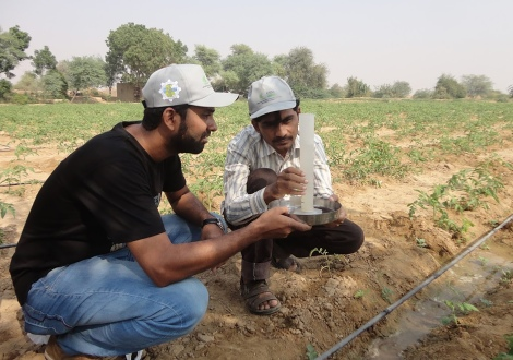 Researchers from Mehran University of Engineering and Technology in Jamshoro, Pakistan. Estimates indicate at least one quarter of Pakistanis do not have safe and reliable access to clean water.