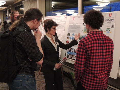 Students discuss the dynamics of interdisciplinary work and how it relates to sustainability.