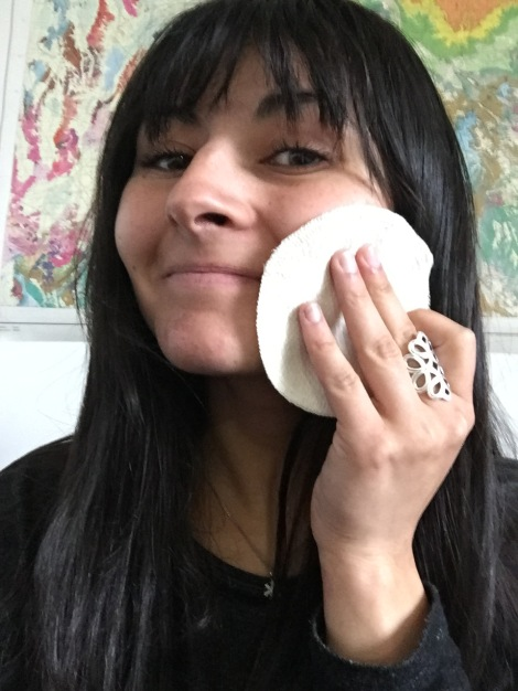 A major form of waste in my regimen was from the cotton rounds that I used to clean my face. I found a great shop on Etsy that makes organic cotton rounds that are reusable. I just throw them in with my laundry to clean them!
