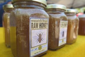 Raw local honey.