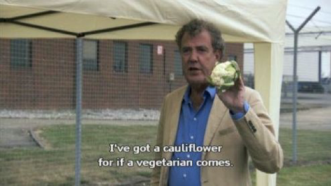 Funny quote from Top Gear.