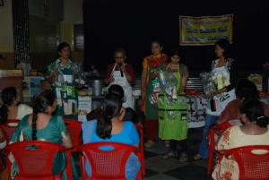 Dr. Manisha Anantharaman with Indian colleagues. Via Manisha Anantharaman.