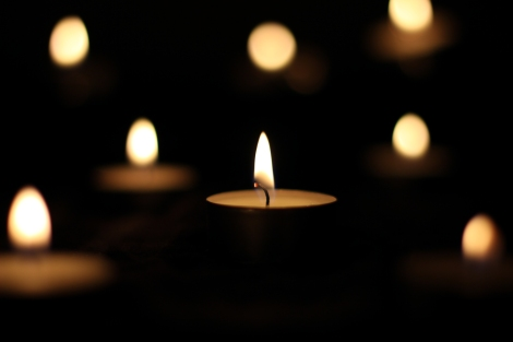 Tea Candle in the Dark by Markus Grossalber, CC by 2.0.